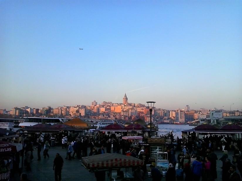 Porto di Eminonu Istanbul