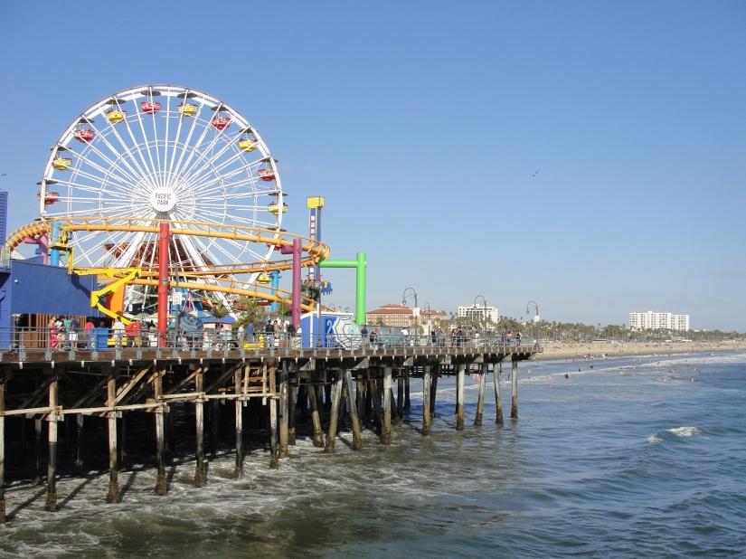ruota panoramica di Santa Monica