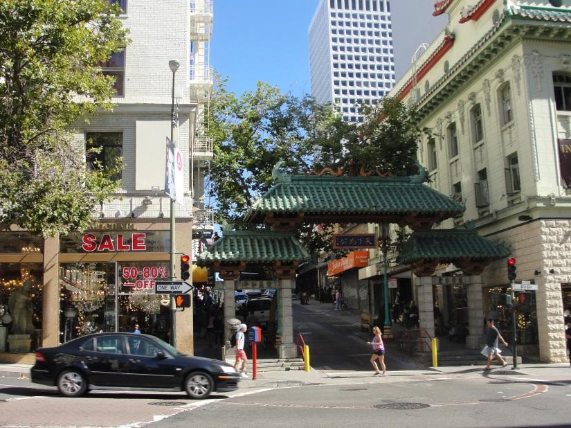 Porta del drago chinatown