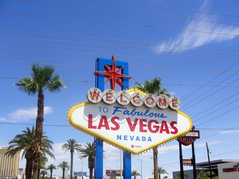 insegna welcome to las vegas