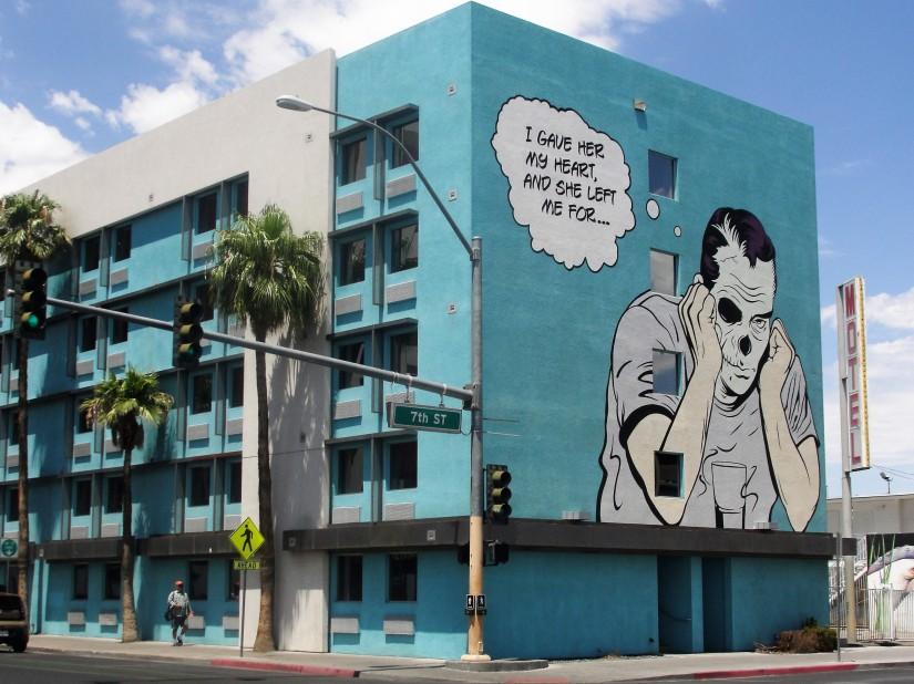 i più bei murales di Las vegas