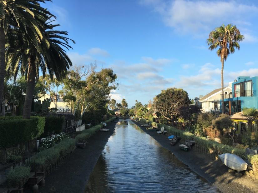 i canali di Venice a Los Angeles