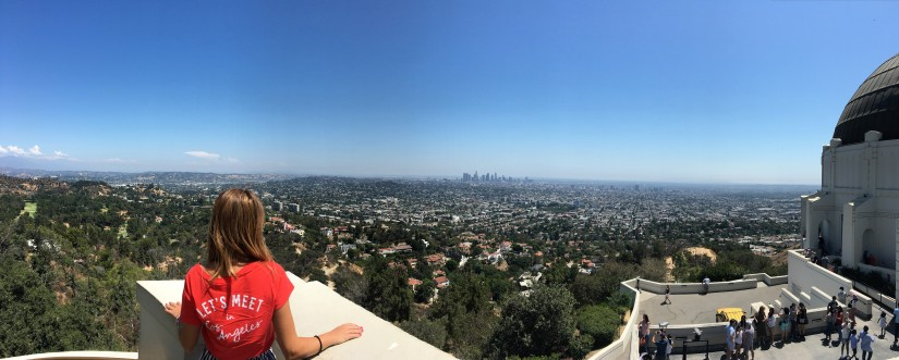 Los Angeles vista dal Griffith Observatory