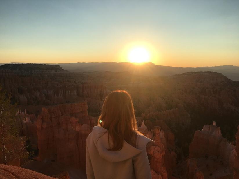 Alba al sunset point