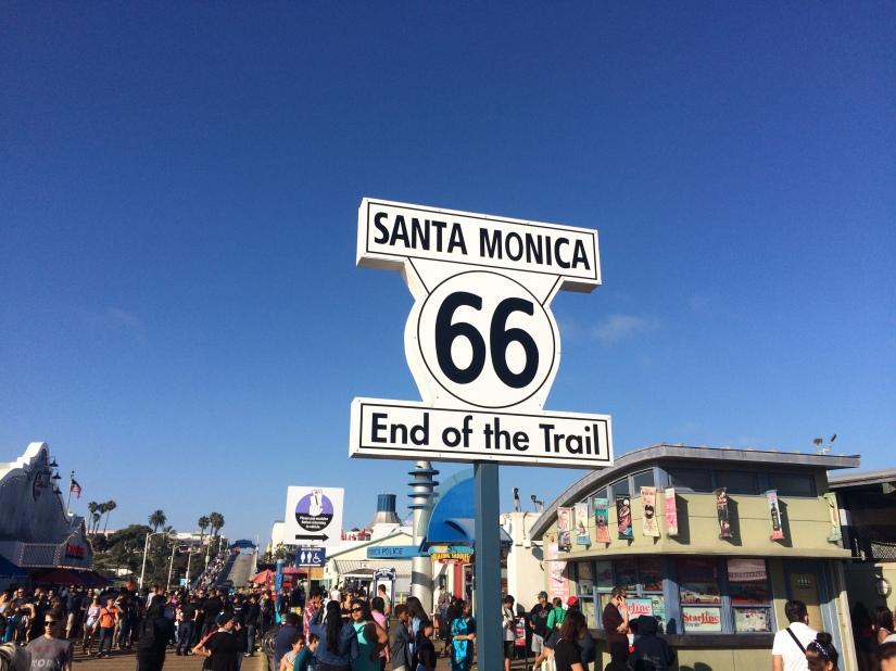 Santa Monica fine della Route 66
